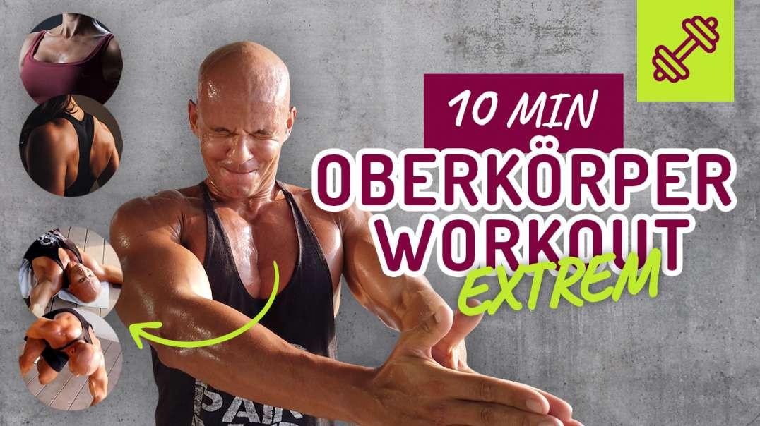 10min Oberkörper Workout Extrem, Zuhause