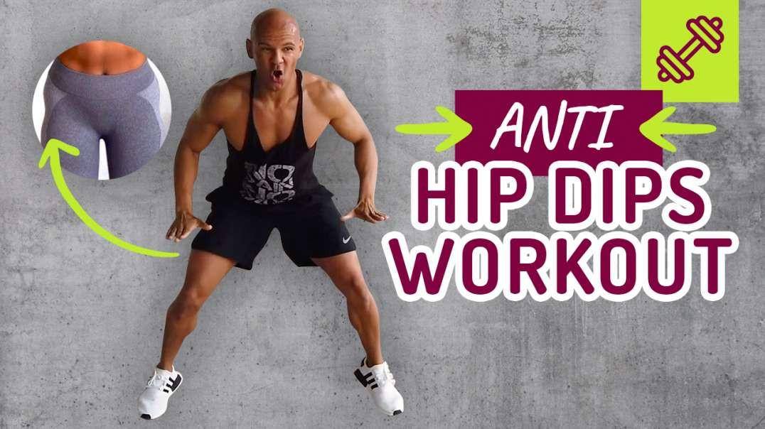 Das EINZIGE Anti Hip Dips 5 min Workout + Erklärung