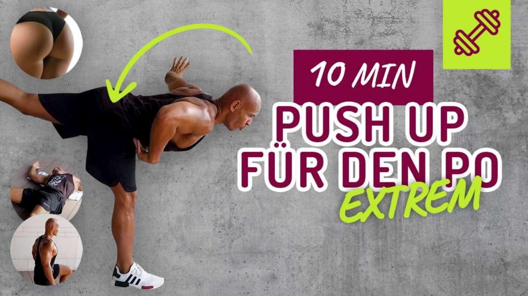 Push Up für den Po in 10min ohne Equipment
