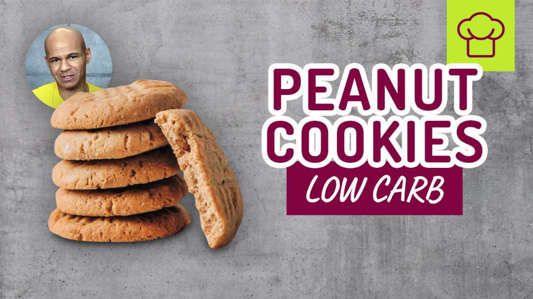 180 - Low Carb Peanut Cookies. SCHNELL gemacht.