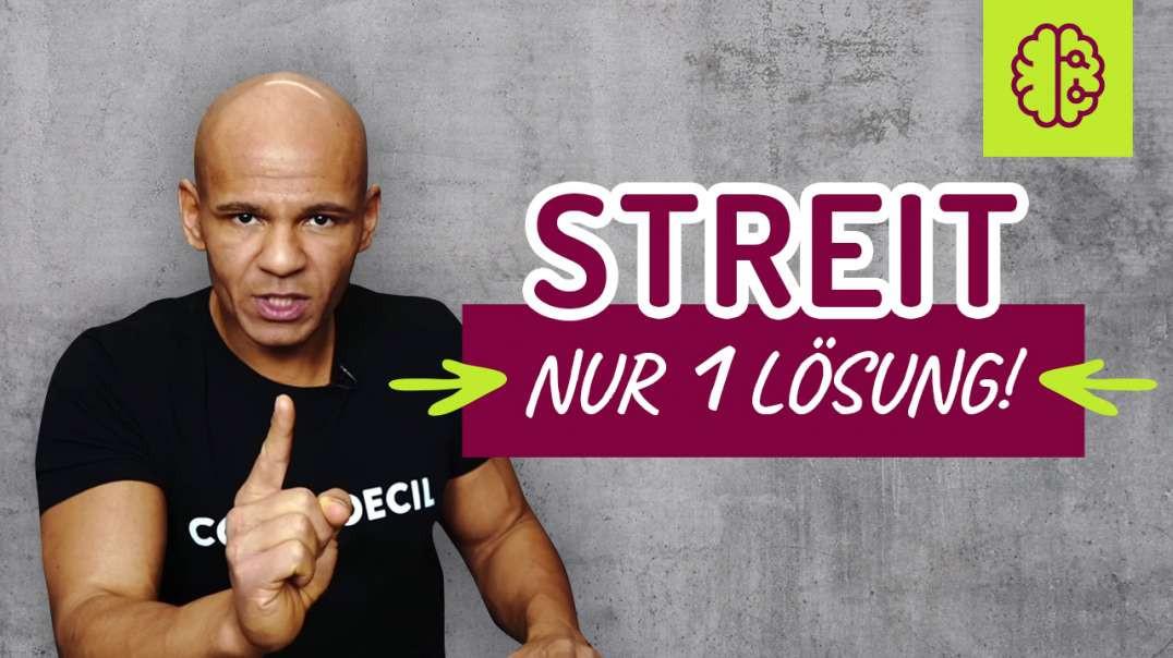 182 - STREIT, STRESS ! Es gibt NUR EINE MÖGLICHKEIT mit Menschen auszukommen OHNE STREIT. Coach Ceci