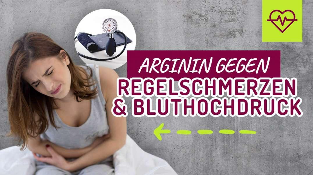 Mit Arginin Regelschmerzen & Bluthochdruck bekämpfen