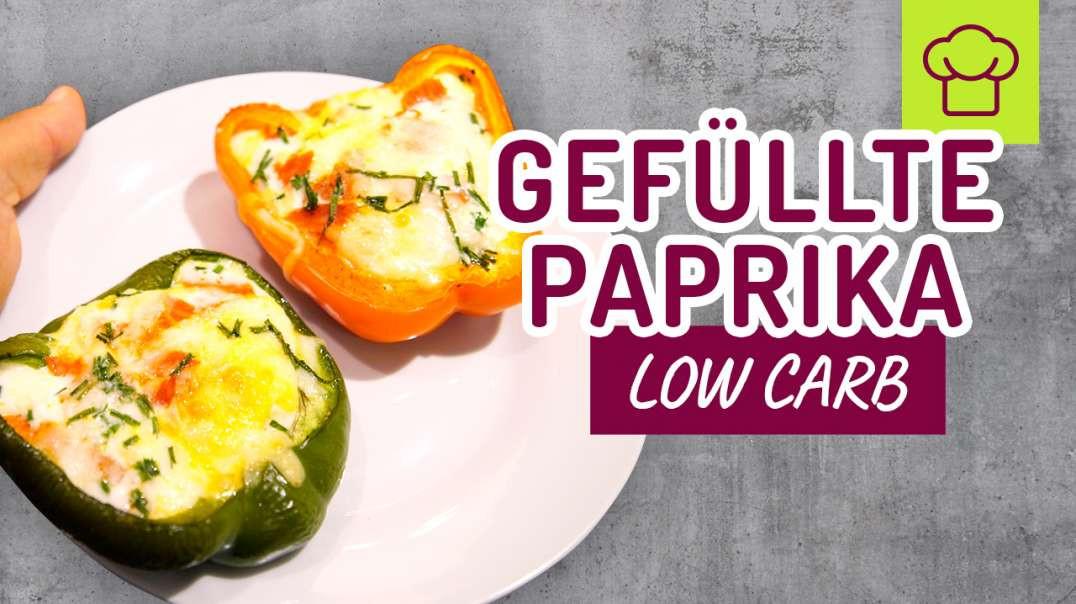 Low Carb gefüllte Paprika