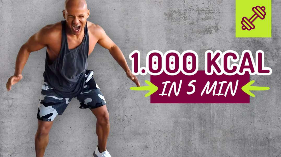 ⁣1.000 Kcal in 5 min verbrennen ? Lets Try. Coach Cecil
