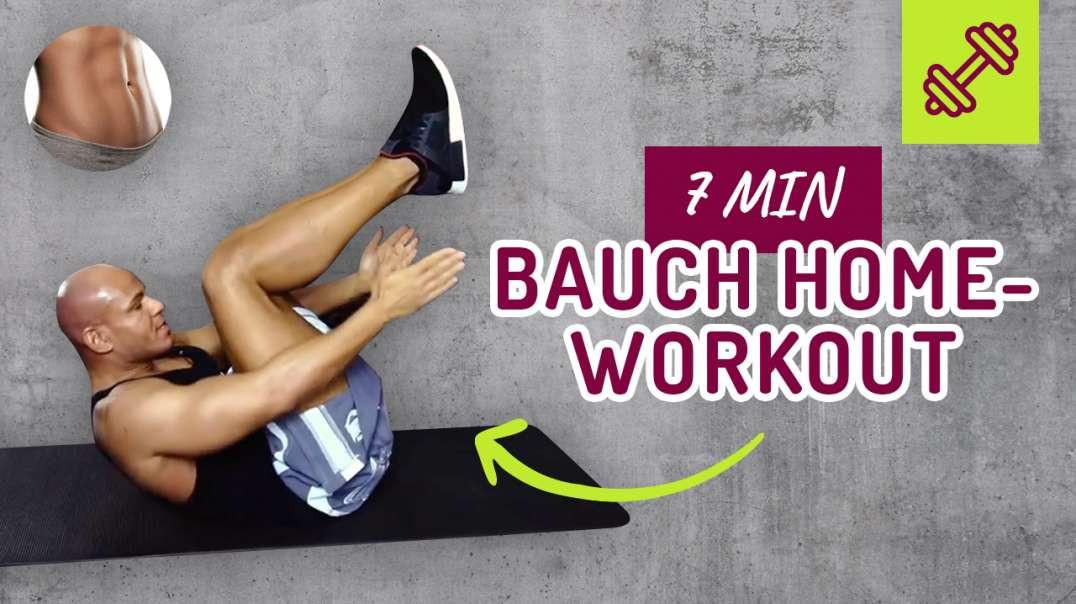 191 - 7 min Bauch Workout für Zuhause ohne Equipment