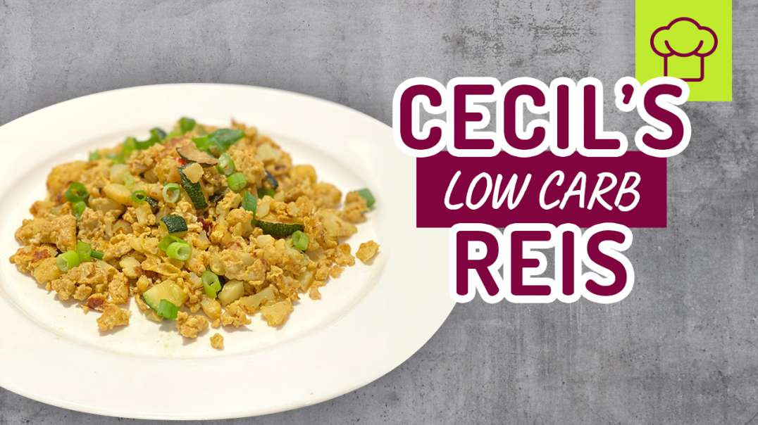 Der leckerste Low Carb Reis der Welt! Coach Cecil