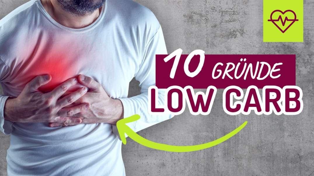 10 Gründe warum Low Carb ein MUSS ist