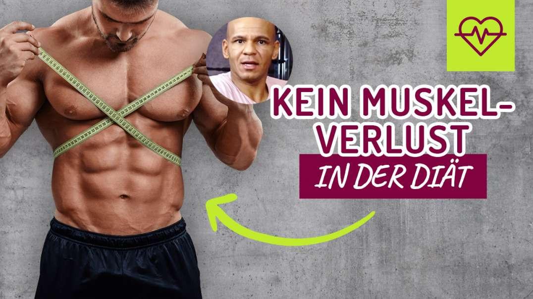 """158 - So VERLIERST du KEINE Muskeln in der DIÃ""""T. Coach Cecil 2017/2018"""
