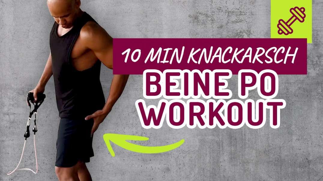 Das beste 10 min Knack Arsch Beine Po Workout