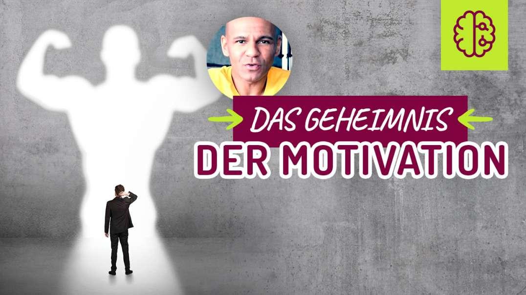 141 - Das GEHEIMNIS der Motivation‼� Es gibt nur EINE Möglichkeit sich zu motivieren‼� Mindset. 2017