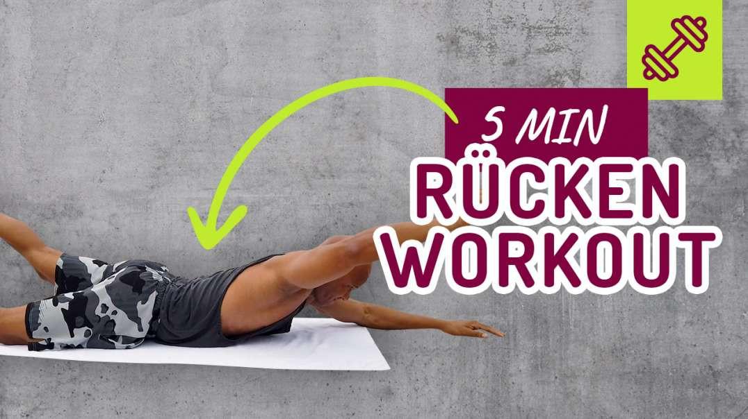 5 min Rücken Zuhause 10 Übungen
