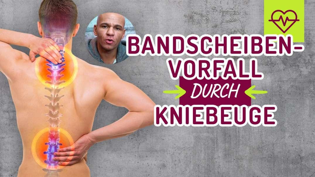 75 - BANDSCHEIBENVORFALL durch KNIEBEUGE... Coach Cecil 2017/2018