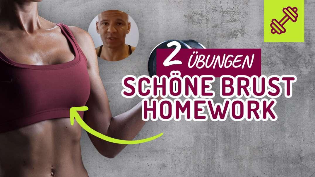 2 Übungen für eine schöne Brust Zuhause