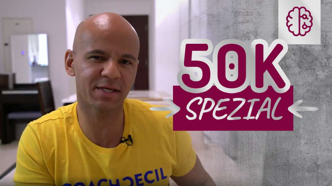 50 000 Abo Spezial auf YouTube. Coach Cecil
