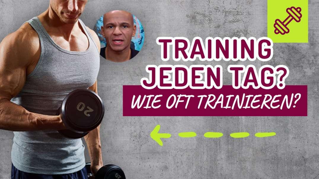38 - Training JEDEN TAG ? Wie oft trainieren ? Regeneration ? Was trainieren ?  Coach Cecil 2017/201