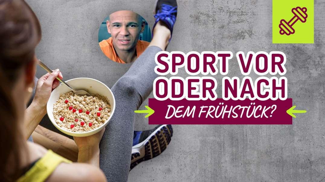 93 - Sport VOR oder NACH dem Frühstück ? Low Carb Frühstück.  Coach Cecil 2017/2018