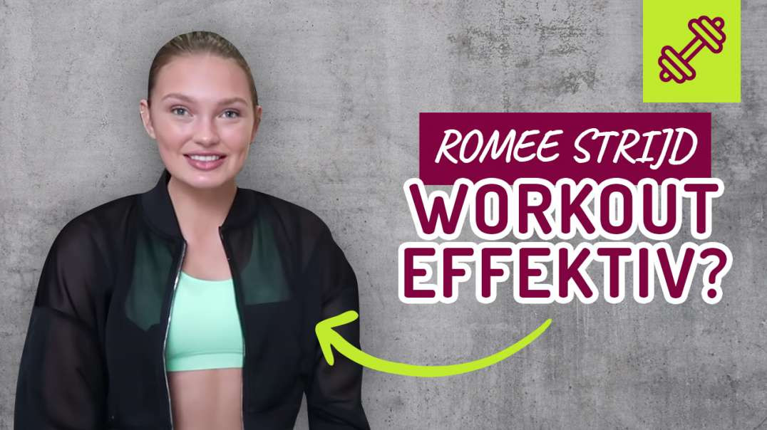 15 Minute LEG Workout - Fitness Series With Romee Strijd - Effektiv ?