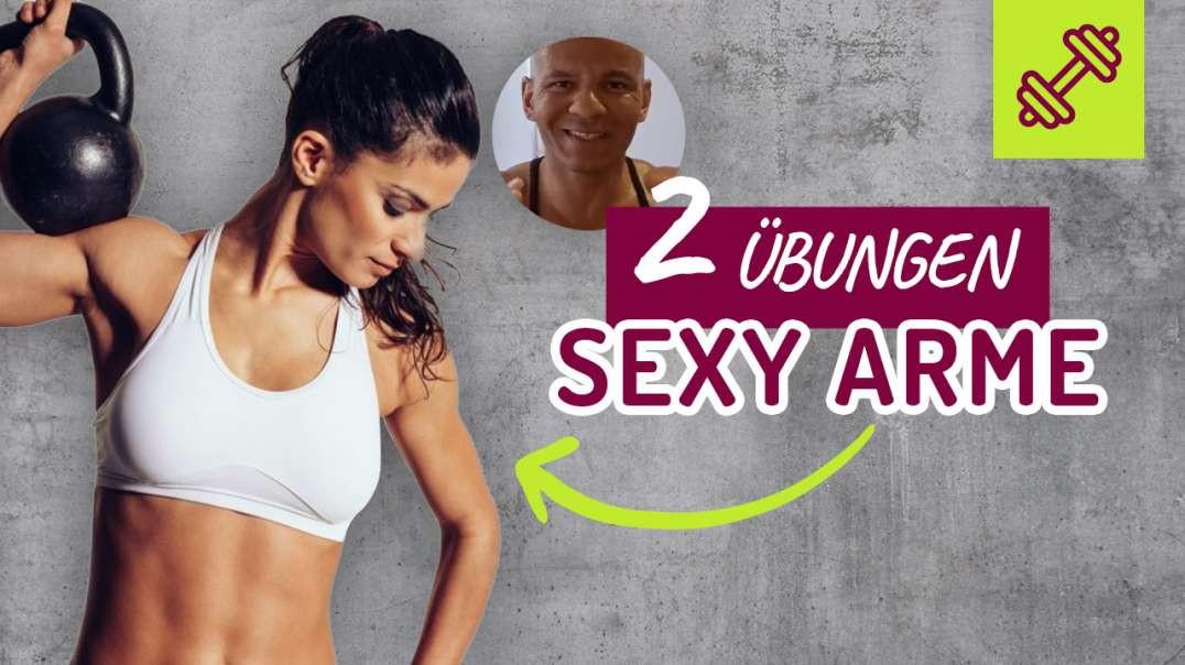 2 Übungen für sexy Arme : Trizeps für Zuhause