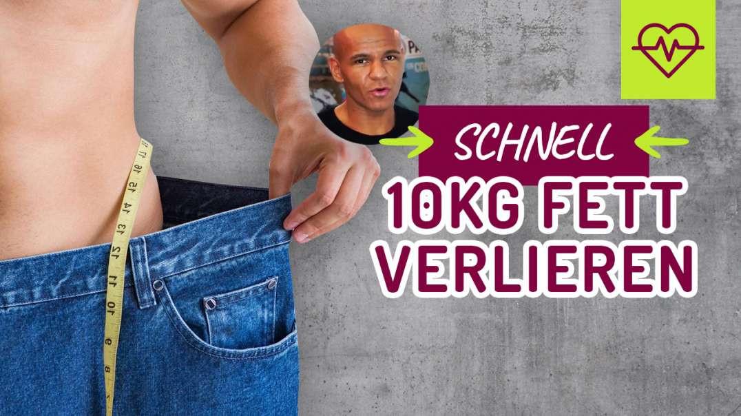 (2016) Coach Cecil SCHNELL 10kg FETT verlieren�� 4 Tipps zur effektiven Fettverbrennung