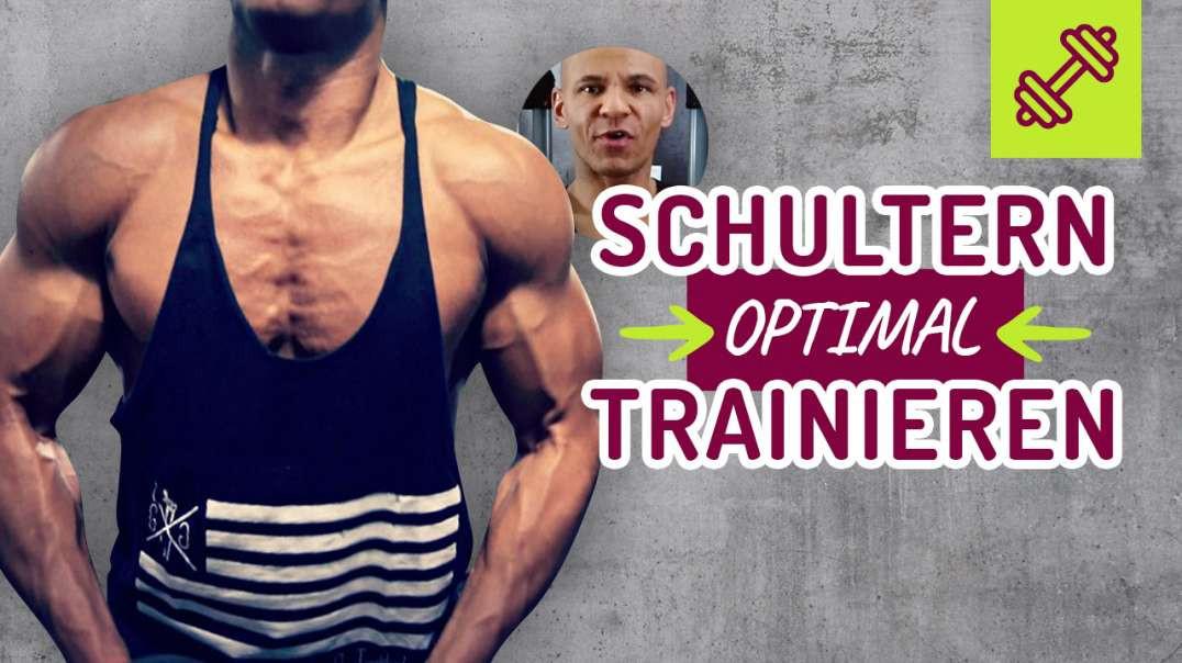 Schultern optimal trainieren