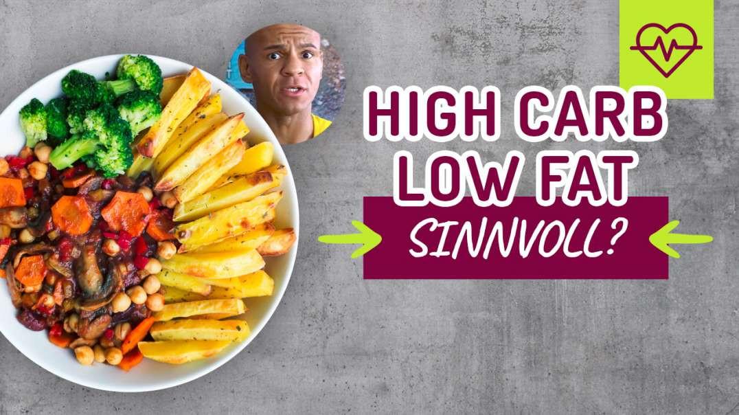 34 - High Carb Low Fat 80% 10% 10% sinnvoll oder Schwachsinn ?  Coach Cecil 2017/2018