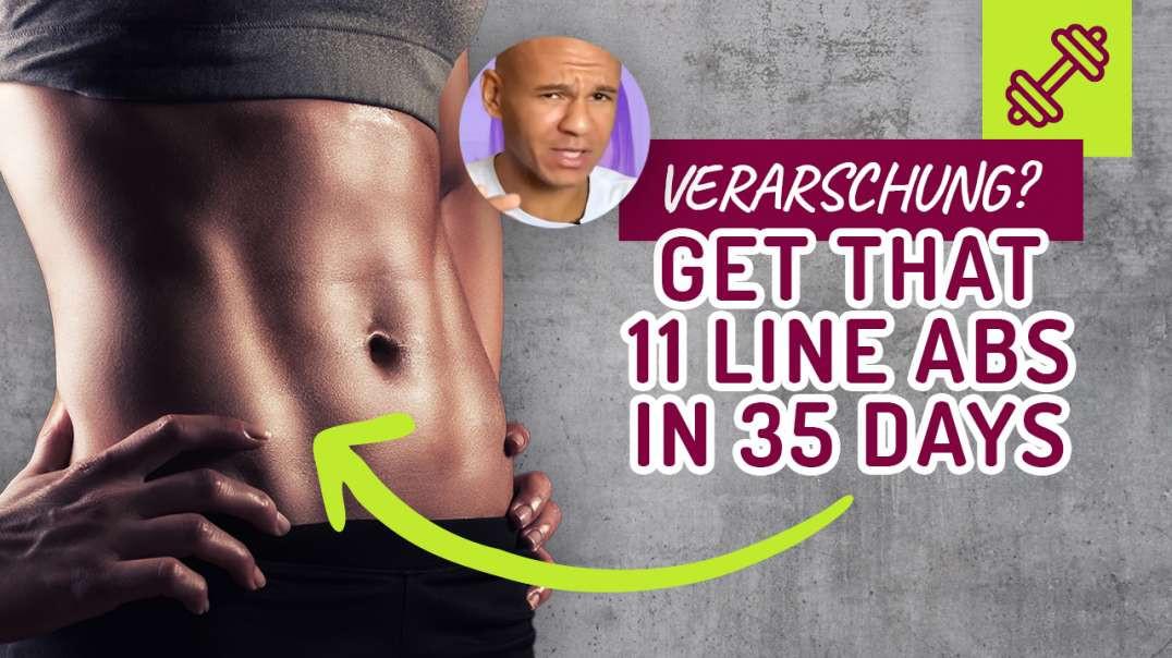 Abs Workout. Get that 11 Line Abs in 35 days - VERARSCHUNG ? Bauch Workout.