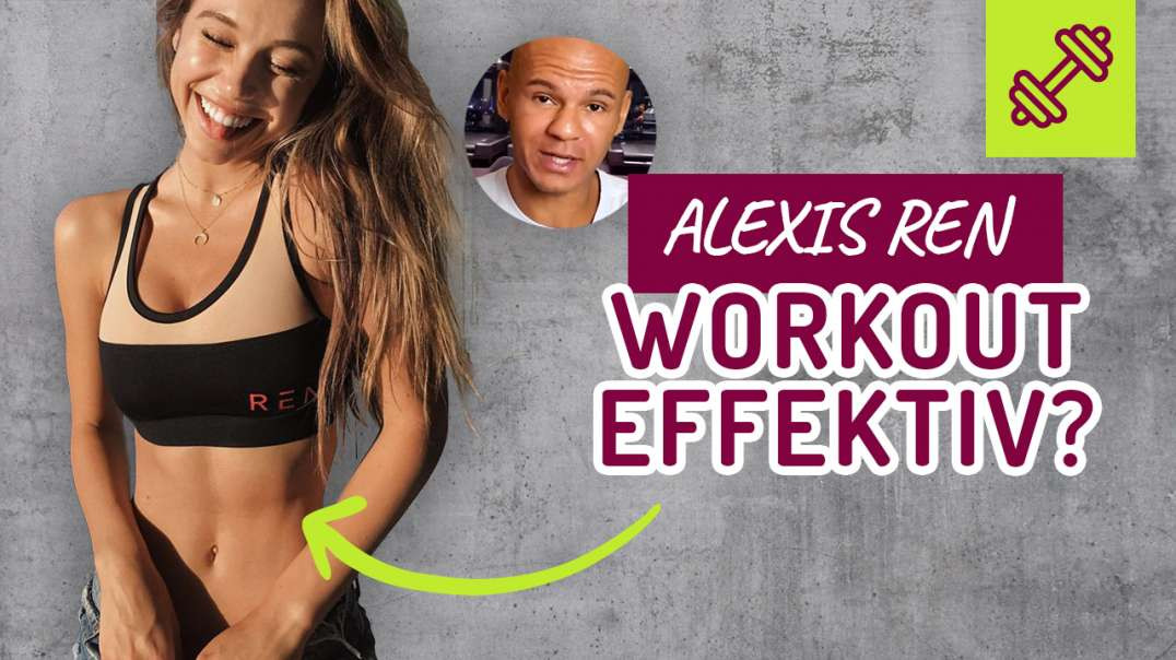10 MINUTE AB WORKOUT | ALEXIS REN - EFFEKTIV ? Bauch Workout !