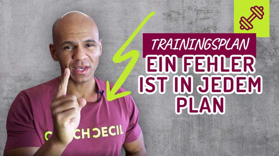 43 - Trainingsplan erstellen. Ein FEHLER ist in JEDEM Plan - KEIN Plan ist perfekt.  Coach Cecil 201