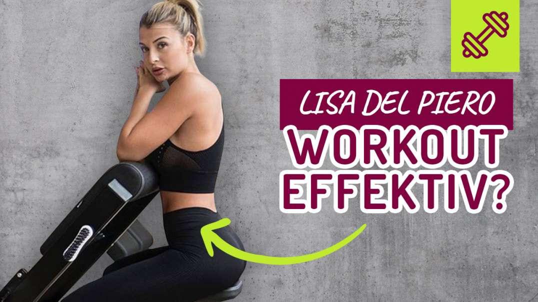 Großer PO Training. EFFEKTIV ? - Übungen für einen KNACK-PO - Lisa Del Piero