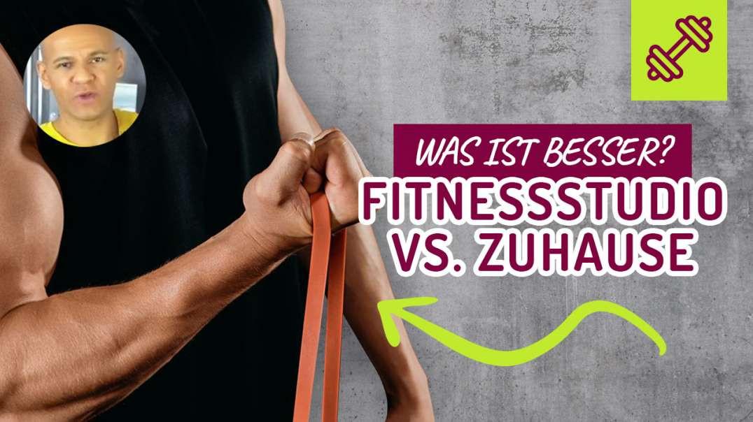 Fitnessstudio vs. Zuhause trainieren. Was ist BESSER ?