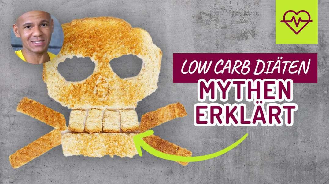 Low Carb = 1. keine Kraft & 2. Proteine werden zu Zucker. MYTHEN erklärt