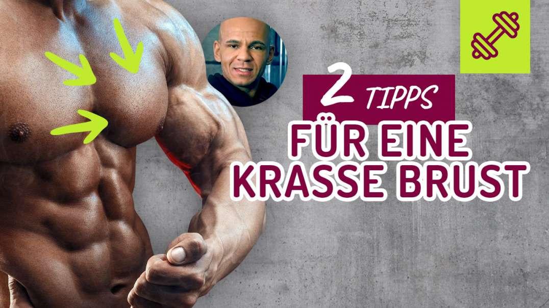 90 - 2 Tipps für eine KRASSE BRUST. Für Brustvergrößerung die Brust trainieren ?  Coach Cecil 2017/2
