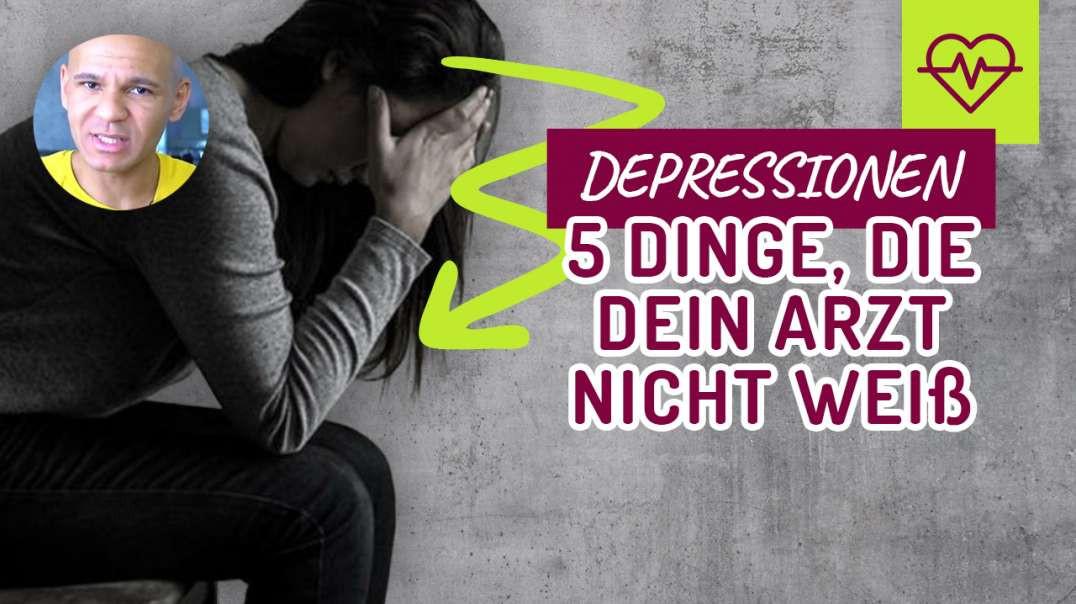 DEPRESSIONEN. 5 Dinge, die dein Arzt NICHT WEIß.