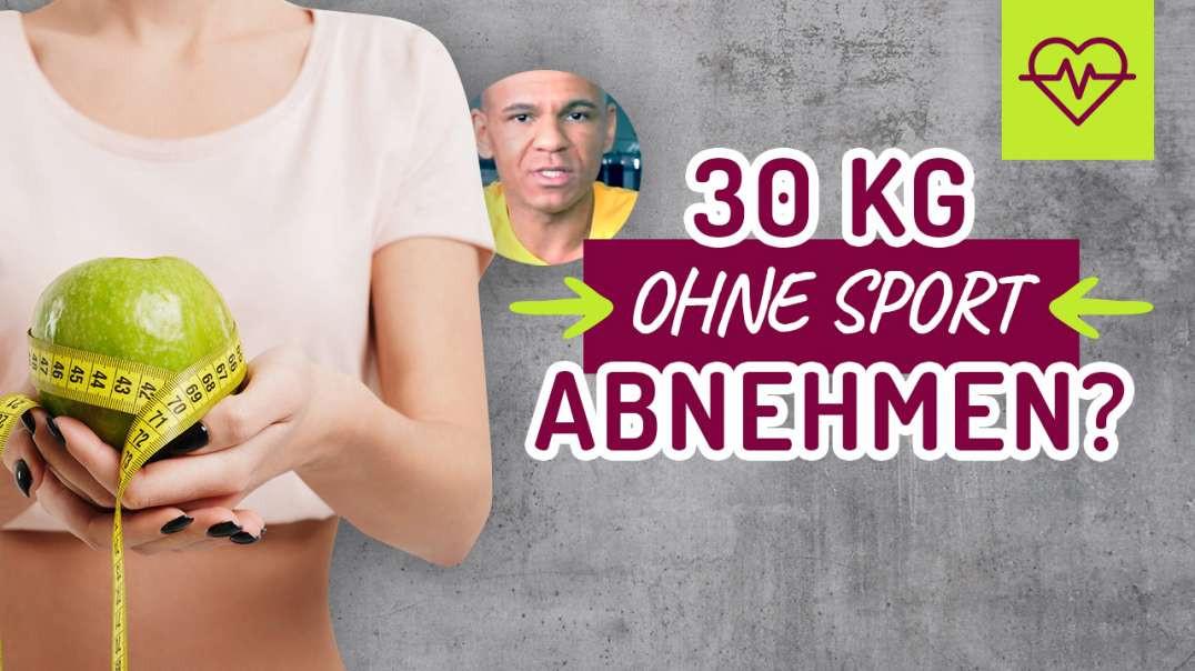 121 - 30 Kg abnehmen OHNE Sport !? Möglich ? Geheimer Trick...  Coach Cecil 2017/2018