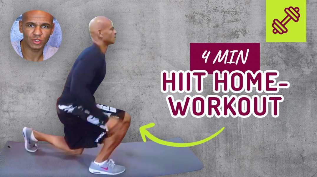 36 - HIIT HOME WORKOUT. 4 min.  Coach Cecil 2017/2018
