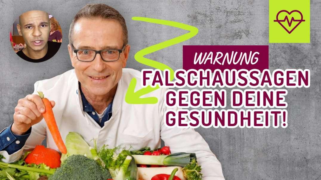 Ernährungsdocs Dr. Riedl - WARNUNG - Falschaussagen GEGEN deine Gesundheit !