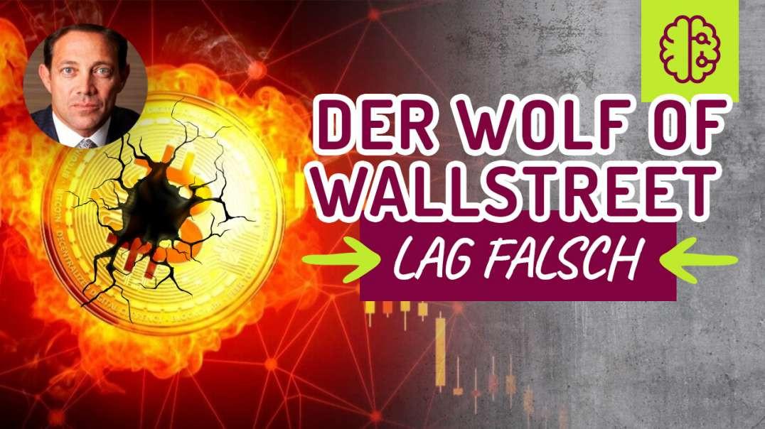 �Bitcoin auf 500.000$ Der Wolf of WallStreet lag falsch