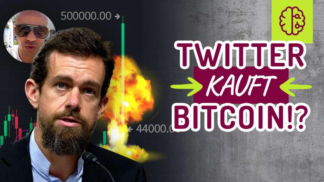 TWITTER kauft BITCOIN !? Bitcoin auf 500k ?