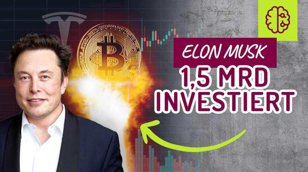 Bitcoin EXPLODIERT ! Elon Musk & Tesla investieren 1,5 MILLIARDEN in Bitcoin !