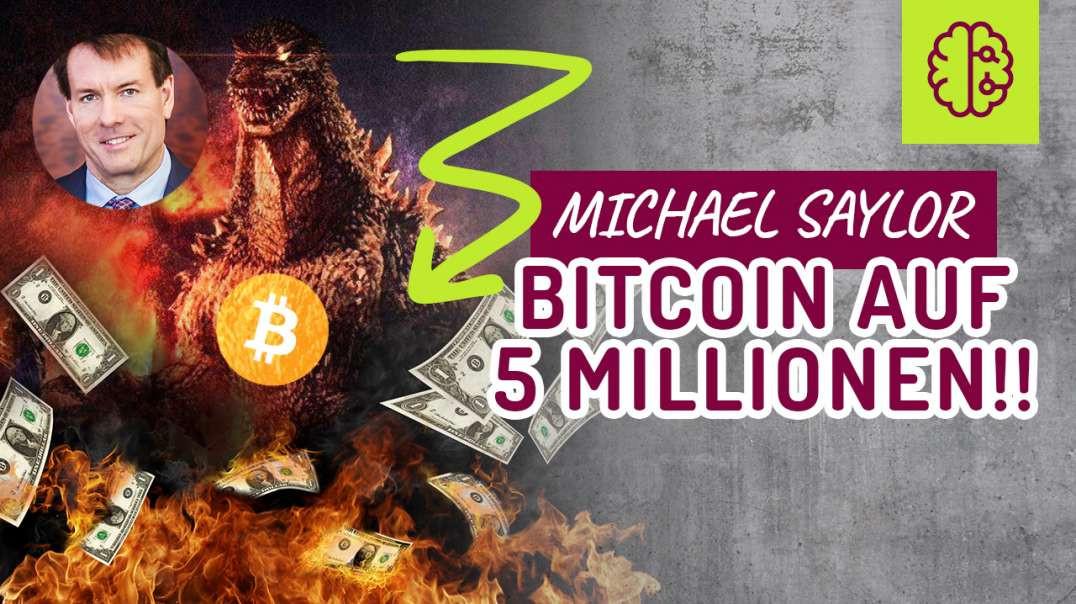Michael Saylor - Bitcoin auf 50 MILLIONEN ! Dollar tot ! Coach Cecil