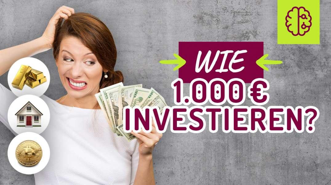 Wie würde ich 1.000€ investieren - 1 MILLION