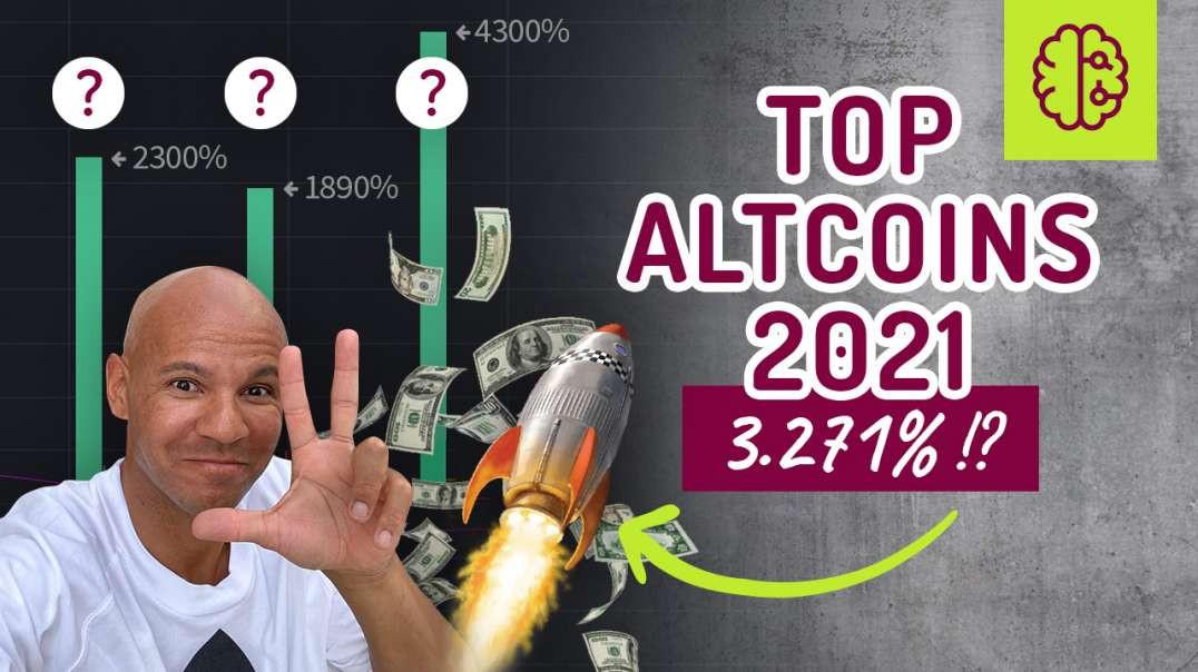 UNFASSBAR ! Top 3 Altcoins 2021 + 3 530% ! Unendliches Potential