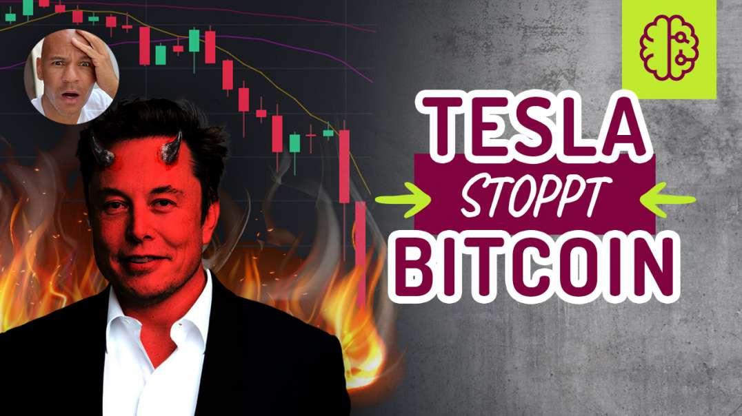 NOTFALL !!! Tesla STOPPT Bitcoin !!