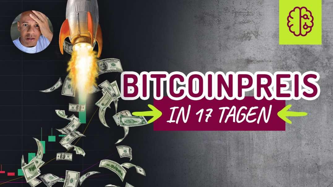 Krasse News. Bitcoin Preis in 17 Tagen... JP Morgen eingebrochen!
