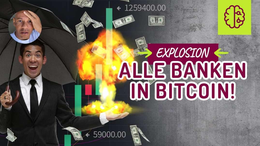 EXPLOSION auf 1,3 Millionen ! Alle Banken werden Bitcoin anbieten ! SCHNELL gucken & TEI