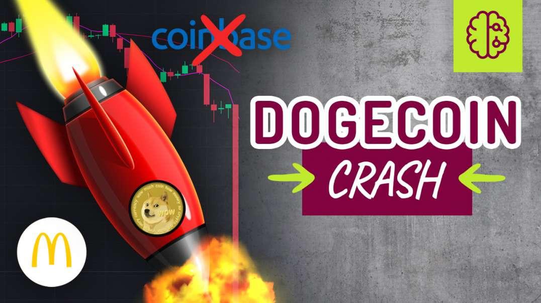 Dogecoin CRASH, Coinbase Aktie (nein!), McDonalds