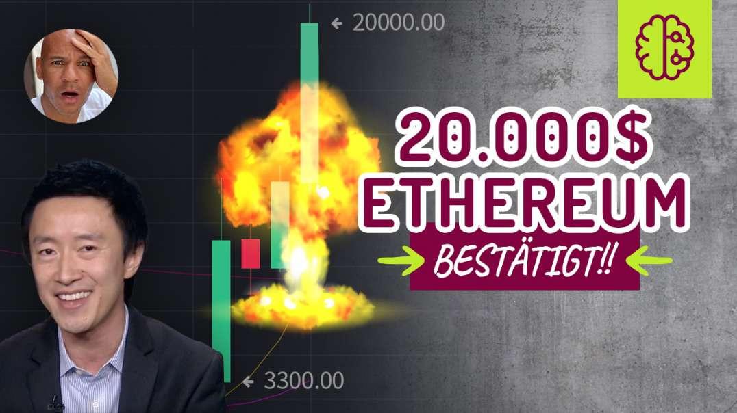 UNFASSBAR! Ethereum auf 40.000$ BESTÄTIGT ! Preisprognose erklärt..