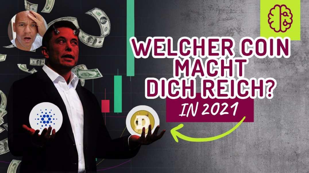 NEWS! Cardano oder Doge ? Was wird dich in 2021 REICH machen ?