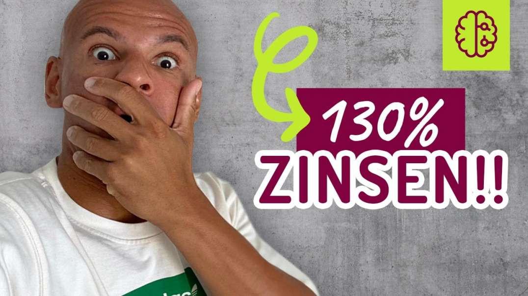 CHANCE!!! 130% - 260% ZINSEN auf dein Geld !! SCHNELL angucken ! Coach Cecil