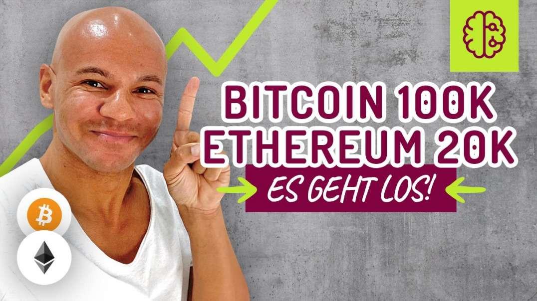 Manipulation ABGESCHLOSSEN ! Bitcoin auf 100k & Ethereum auf 20k in DIESEM JAHR ! Coach